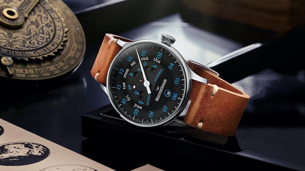 星象錶經典傑作 德國明斯特單指針「一表非凡」