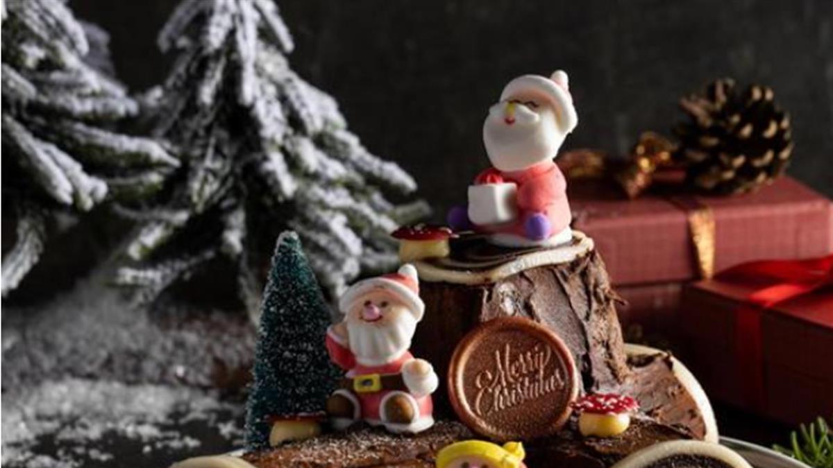 到板橋瘋耶誕 新板希爾頓推出英女王最愛甜點
