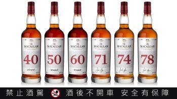 麥卡倫RED COLLECTION    麥卡倫史上酒齡最高78年