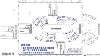台南圓環越改越危險 網瘋傳一張圖狠嗆交通局